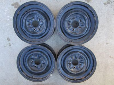 Find 63 64 Corvette Original GM Steel Wheels--set of 4--NCRS! Unrestored--**RARE** motorcycle in Kansas City, Kansas, United States, for US $2,495.00