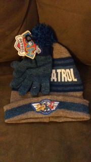 Paw patrol winter hat and gloves. New!