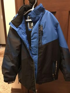Boys size small free country winter jacket