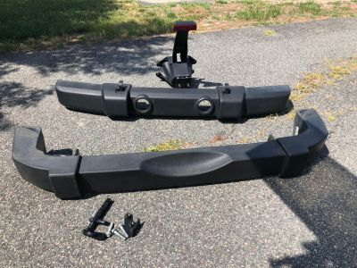 Jeep Wrangler JK Front and Rear Bumper and Tire Mount 07-18