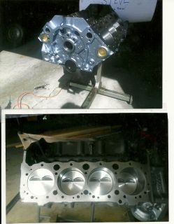 High performance engine parts
