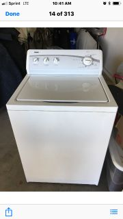 Washer and dryer in excellent condition