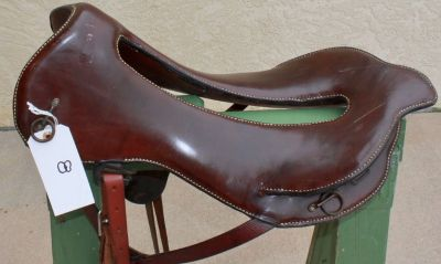1880 s whitman saddle new leather on seat with whitman brass data plate
