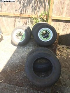 14 wheels and tires