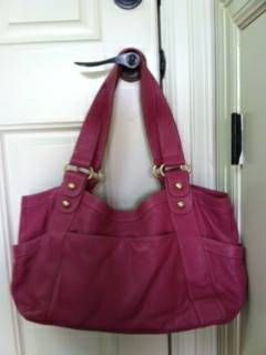 9668GORGEOUS Spring Leather Handbag9658Rose LEATHER96689658BarrBarr