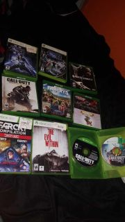 Xbox games all work