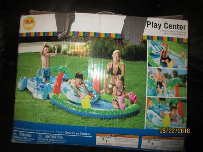 POOL PLAY CENTER/ OPENED, NOT USED