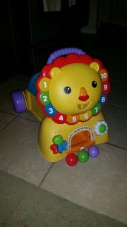 Fisher-Price 3 in 1, sit, stride and ride lion