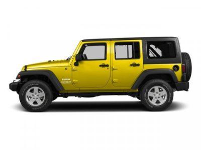 2015 Jeep Wrangler Unlimited Sport (Baja Yellow Clearcoat)
