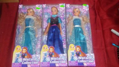 winter collection dolls