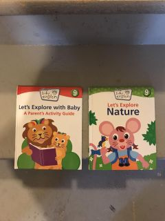 Baby Einstein s books both for $1 located in meridian village