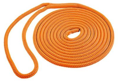 Buy Orange DOCK LINE Double Braid Polyester15ft 3/8in rope marine eye splice SL91638 motorcycle in Thompson, Missouri, United States, for US $9.99