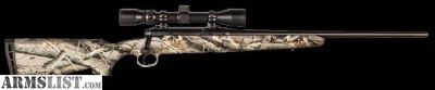 For Sale: Savage Axis XP Camo .223 Rem w/ Bushnell scope