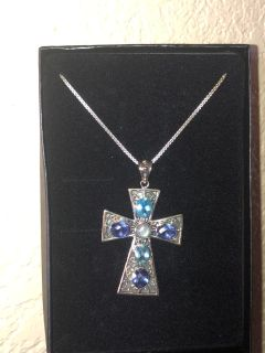Cross Necklace With Box