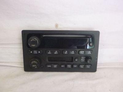 Purchase 03-05 GM Chevrolet GMC Tahoe Yukon Radio Cassette Cd Face Plate 15104156 mk61381 motorcycle in Williamson, Georgia, United States