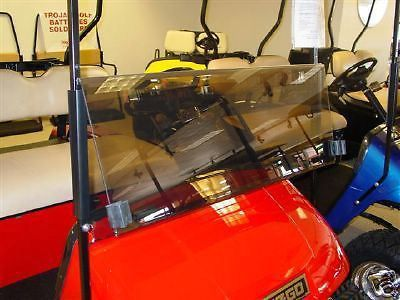 Find New Tinted Fold Down Windshield for EZGO Golf Carts fits EZGO 1995-Up TXT E-Z-GO motorcycle in Evansville, Indiana, United States, for US $86.99