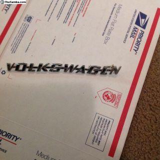 Volkswagen emblem fastback