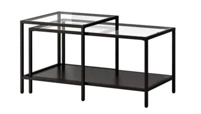 Nesting coffee tables - set of 2