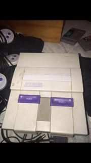 SUPER NINTENDO WITH GAMES NEED GONE TODAY