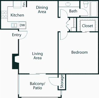 1 bedroom in The Colony