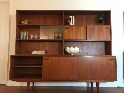 On Hold-Mid Century Modern Credenza and Hutch