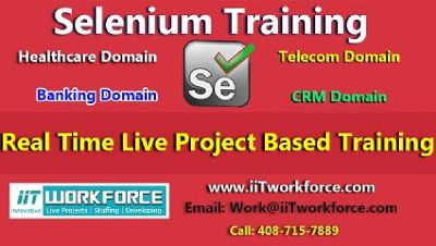 Selenium Real-time Project Workshop experience by iiT Workforce