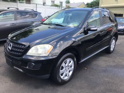 2006 Mercedes-Benz M-Class ML350 (Obsidian Black Metallic)