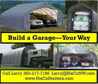 Garage Shelter For Less!