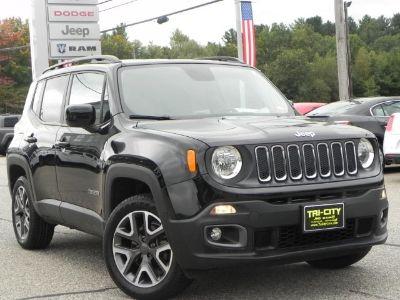 2015 Jeep Renegade Latitude 4X4  2.4 Liter 4 Cyli (black)