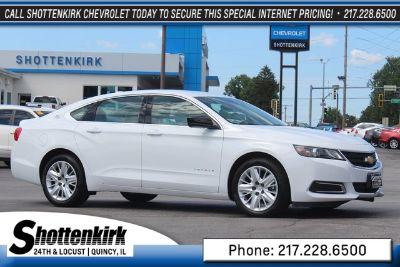 2018 Chevrolet Impala LS (summit white)