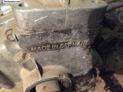 Porsche 356 Short Block