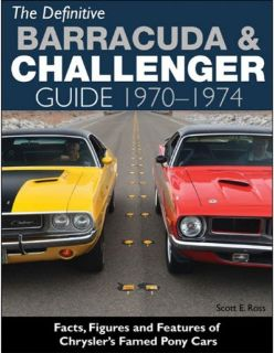 Buy 1970 to 1974 Plymouth Barracuda - Cuda Restoration - Reference Guide - CT558 motorcycle in Olathe, Kansas, United States, for US $28.91