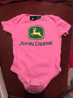 3-6 month onesie. Like new! River Chase