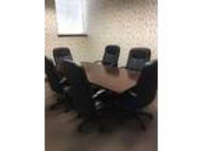 Conference Room Table and six chairs