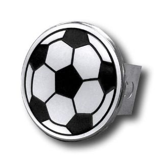 Purchase Soccer Ball Chrome Trailer Hitch Plug Made in USA Genuine motorcycle in San Tan Valley, Arizona, US, for US $34.68
