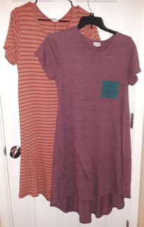 $25 firm for Both Euc M Lularoe Carly Dresses