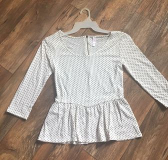 EUC BABY DOLL TOP FROM TARGET