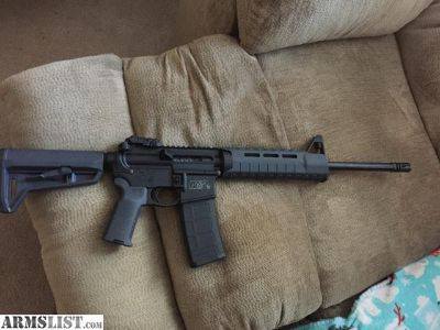 For Sale/Trade: S&W M&P15 with extras