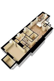 2 bedrooms Apartment - The Albany Broadway are the perfect combination of luxurious. Pet OK!