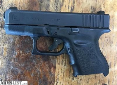 For Sale: NC Glock 27 smooth finger grooves, of first 11,000 made