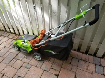Almost new lawnmower