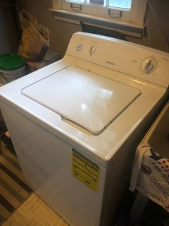 Kenmore Dryer and Hotpoint Washer