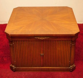 Coffee Table / Cabinet (Good Condition) Consulate by Drexel