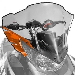 Sell Arctic Cat Mid Windshield Clear Tinted w/Orange 2017 ZR XF 9000 - 7639-382 motorcycle in Sauk Centre, Minnesota, United States, for US $112.99
