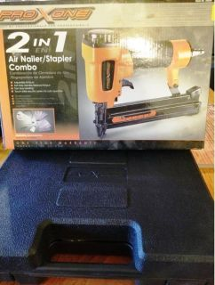 PRO XONE 2 in 1 Air Nailer/Stapler Combo