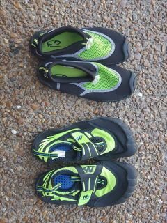 Boys Water Shoes size 13/1 & 2/3