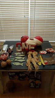 O-fish-ally one party decor