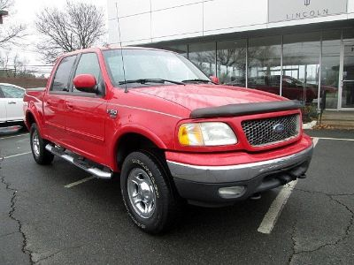 2003 Ford F-150 King Ranch (Bright Red)