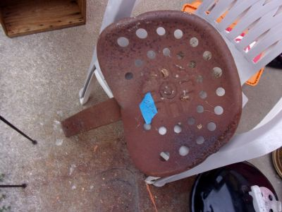 Metal Tractor Seat