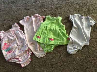 Girls six months outfits
